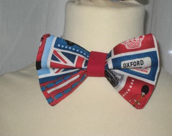 "Noeud papillon en coton ""So british"""