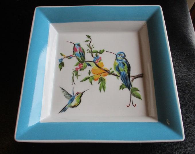empty pockets / birds/porcelain/hand-painted