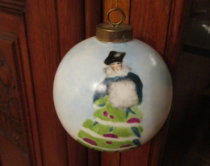 Christmas ball / character/porcelain/hand-painted