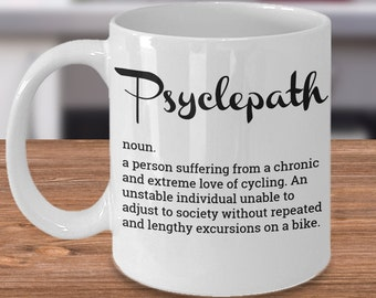 Funny Cyclist Gift Idea For Bicyclist Mug Bicycle Ideas Bike Rider Gifts Cyclists