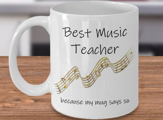 Gift For Music Teacher Music Teacher Gift Idea Music Teacher Etsy