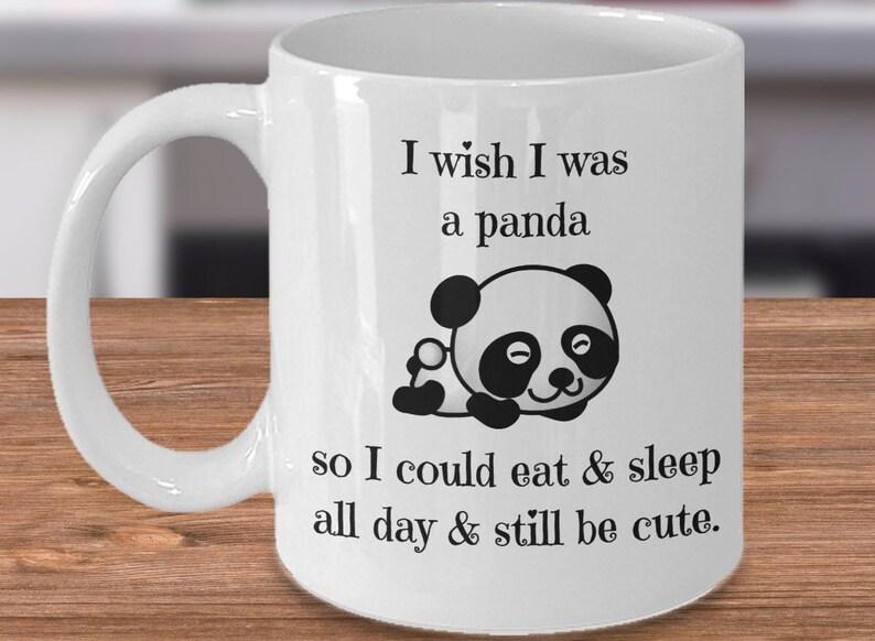 image 0 & Panda Bear Mug Panda Coffee Mug Panda Gift Ideas Panda | Etsy