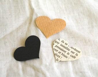 Lot 100 paper hearts