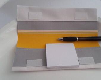 Notepad acrylic fabric