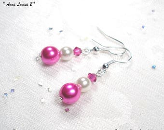 Wedding earrings pearls - Classic Collection - Anna Louisa 2 pearls earrings