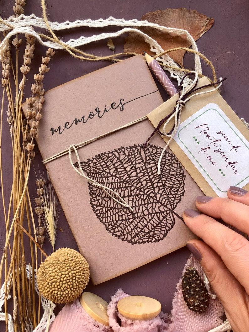 Handmade customized notebook for writers handmade notebook image 1