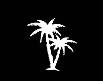 Cut out Palm scrapbooking embellishment die cut scrap album deco