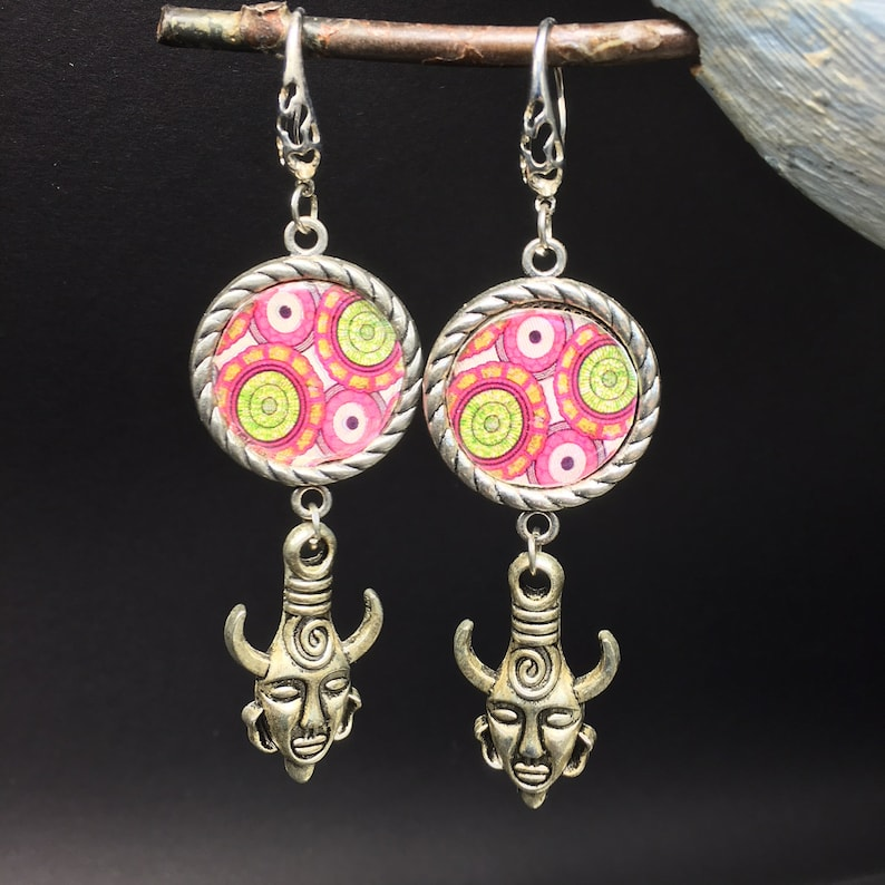 African earring totem cabochon wax Kit