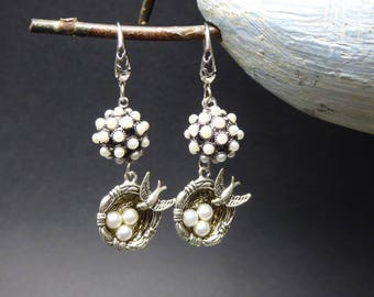 Earrings romantic and spring theme Kit