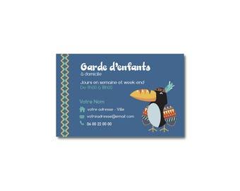 Visit Bear Indian Children S Card Guard Babysitting Etsy