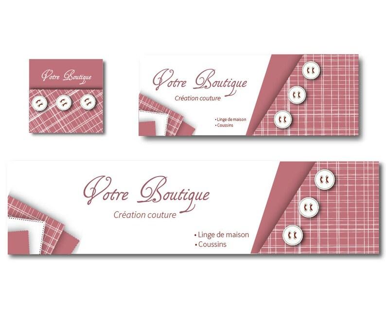 Carte De Visite Recto Verso Theme Couture Et Mercerie