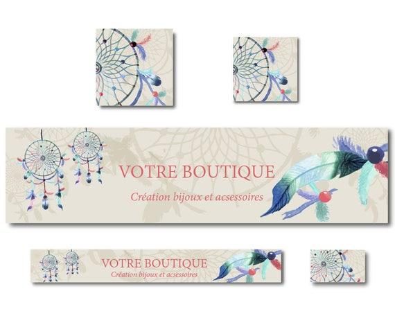 Carte De Visite Attrape Rves Bijoux Professionnel Pour Micro Entreprise
