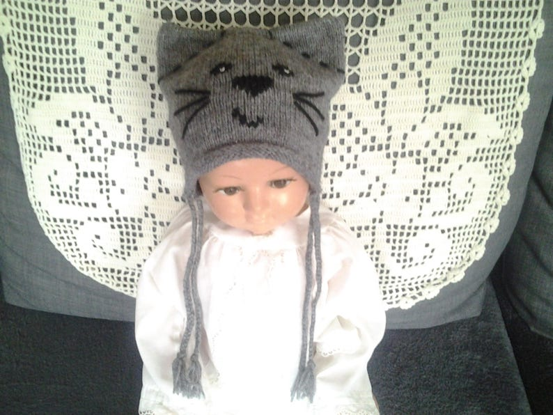 21c68f10cf0 Cat hat beanie baby kids fashion baby gifts baby Hat