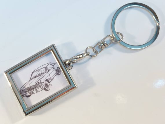 Key Design Car Old Ford Mustang Etsy