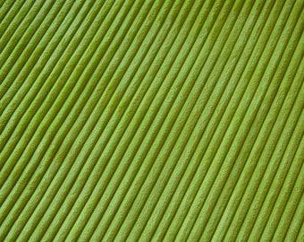 Fabric velvet thick ribs Apple green