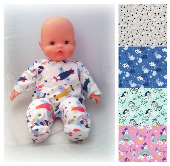 55ad9801eea4f Pyjama sur commande pour poupées et poupons de 30 ou 36 cm | Etsy