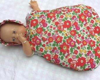 Red Liberty Betsy pink sleeper doll 30 cm