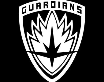 Guardians of the galaxy decal, groot sticker, superhero, car window, laptop, phone, yeti, tumbler