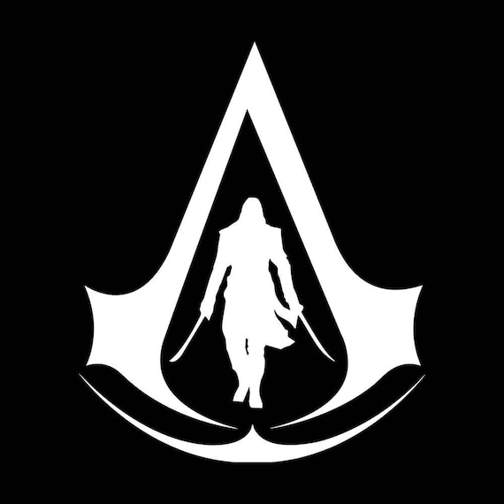Assassin S Creed Decal Origins Black Flag Ezio Altair Etsy