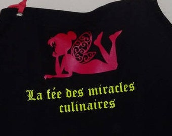 """""""The fairy of miracles"""" apron"""