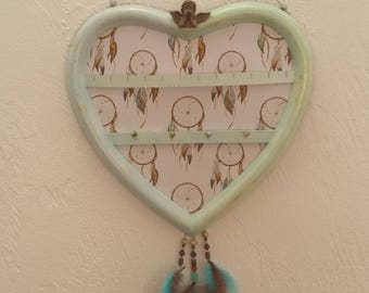 Heart jewelry pattern dream catcher catcher