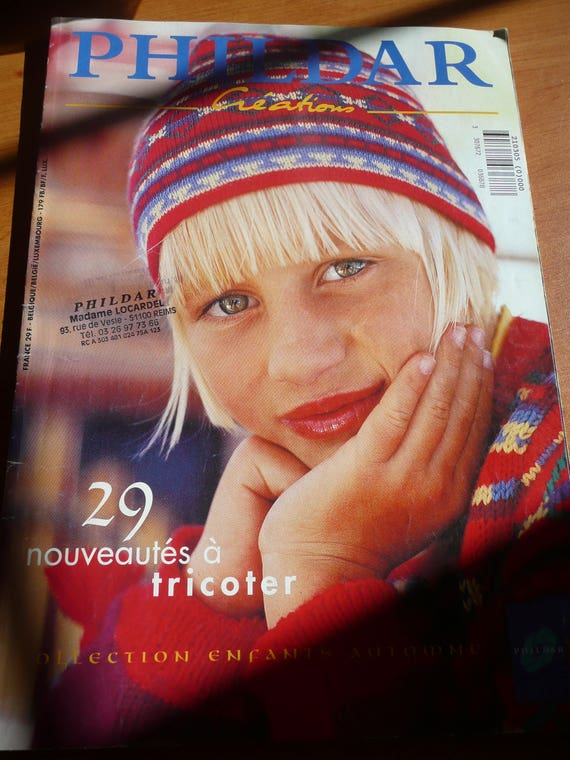 Tricot Magazine Phildar Creations 29 Knitting Pattern For Etsy