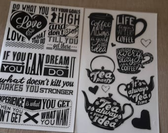 The coffee decal