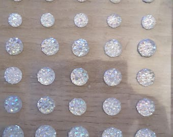 White BlinG stickers