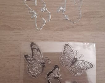 Clear stamps mold cutting