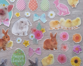 Stickers Easter stickers