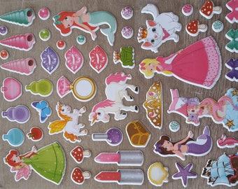 Stickers stickers princesses