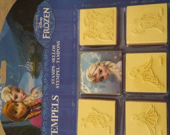 Stamps of the snow Queen