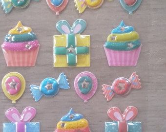 Candy sweet cakes