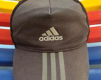 94549715058 Vintage ADIDAS Equipment Cap 90s Sportswear Adidas Black Hat Adjustable Baseball  Hat Streetwear Activewear
