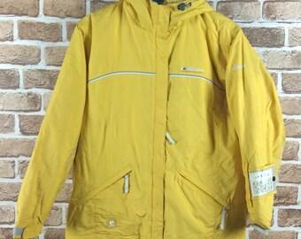 cc9429d2f47 Vintage 90s Ellesse Winter Jacket Coat Windbreaker