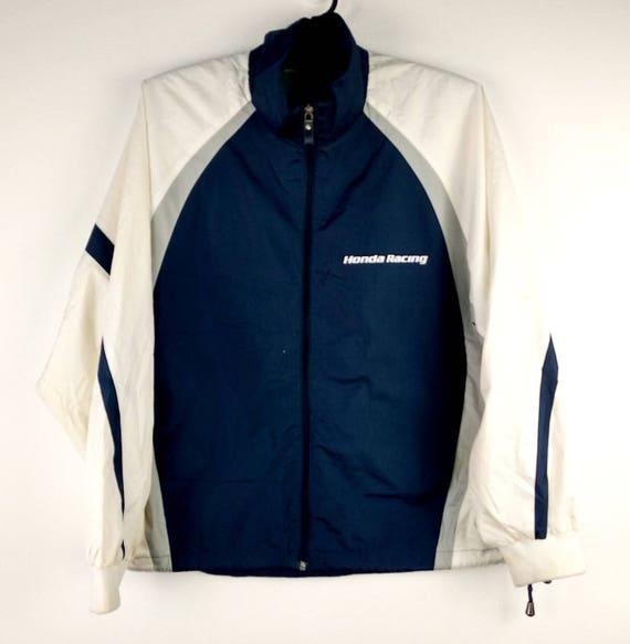 Vintage Honda Racing Windbreaker Honda Jacket Size