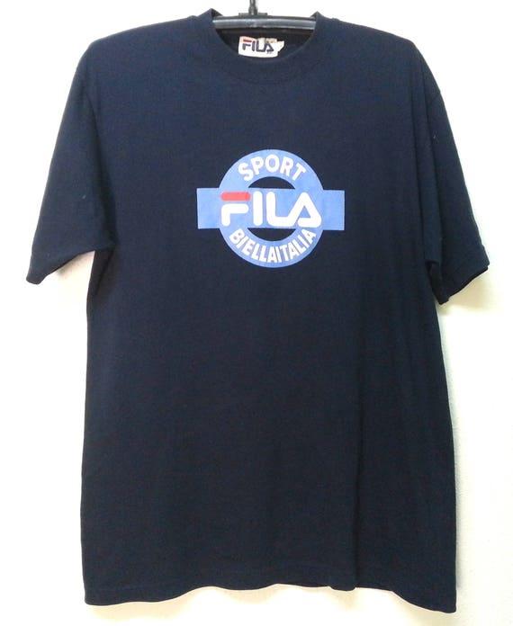 T shirt fila « biella italia «
