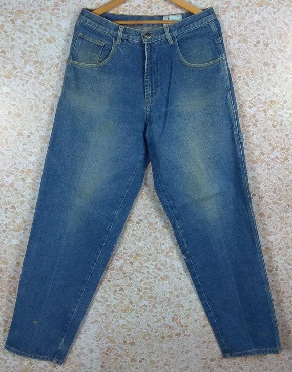 Vintage Baggy Jeans Fubu Jeans Pants Denim Hip Hop