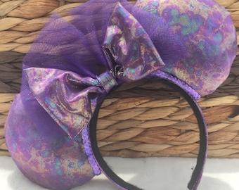 Purple Haze Mouse Ears - One Size - Adult/Child