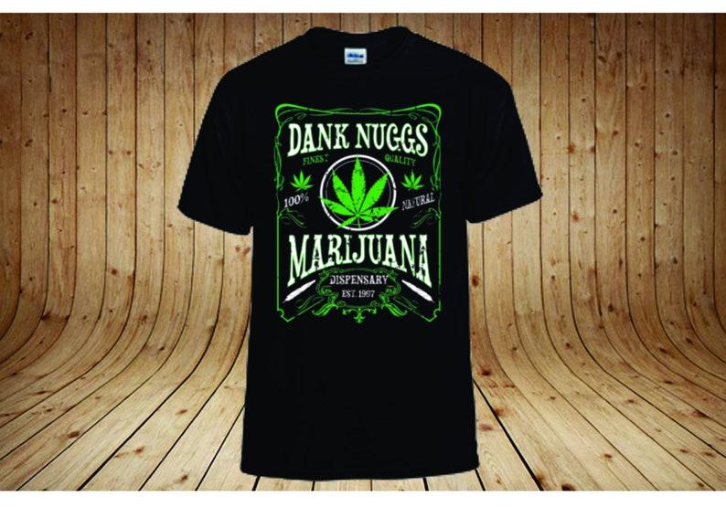 68e1c9c82 Dank Nuggs T-shirt/ marijuana/cannabis/stoner gifts/weed/weed | Etsy