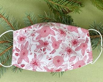 Red Brown Sequin Noël Holly Baies des Bois de Renne Serre-tête Accessoires