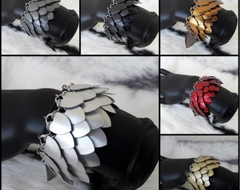 MADE TO ORDER*** Draconis leather cuff