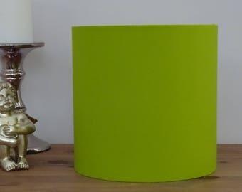 Handmade Bright Lime Fabric Lampshade