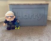Personalised Toy Box, Wooden Toy Box, Girls, Boys, Custom Toy Box, Kids Storage, Nursery Furniture, Large Toy Box, Custom, Bespoke