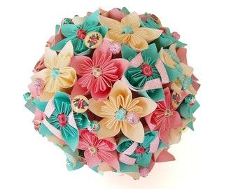 "Bouquet de mariée ""romance acidulée"""