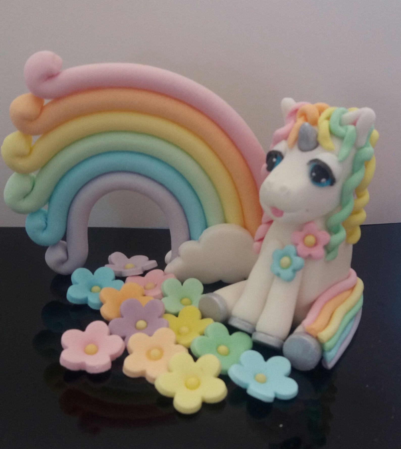 Fondant Unicorn Cake Toppers Page Four