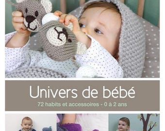 Book catalogue universe phildar baby knitting patterns