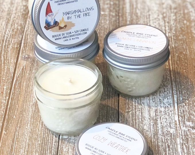 PICK A SCENT! Soy Candles, Winter Candles