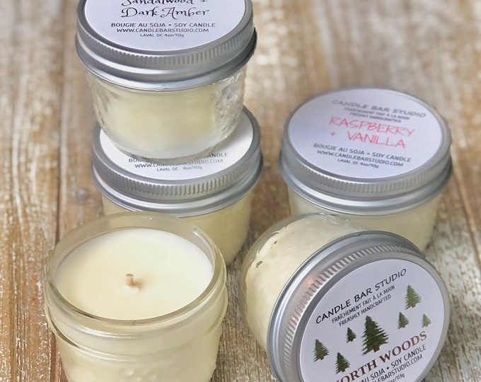PICK A SCENT! Soy Candle.