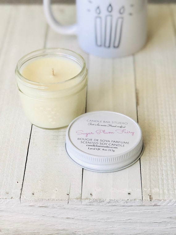 Sugar Plum Fairy Soy Candle (small)